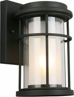 EGLO 203024A Helendale Matte Black Exterior 7  Wall Lighting Fixture