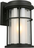 EGLO 203026A Helendale Matte Black Exterior 9  Wall Sconce Light