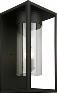 EGLO 203035A Walker Hill Matte Black Exterior 9.5  Lighting Sconce