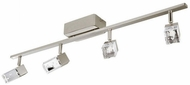 EGLO 203186A Cantil Contemporary Matte Nickel LED Track Lighting