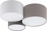 EGLO 203213A Pastore 1 Contemporary Taupe / White / Grey Ceiling Lighting