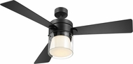EGLO 203217A Casou Modern Matte Black LED 52  Home Ceiling Fan