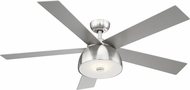 EGLO 203227A Lestat Contemporary Brushed Nickel LED 52  Ceiling Fan