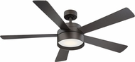 EGLO 203231A Whitehaven Modern Bronze LED 52  Home Ceiling Fan