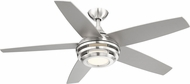 EGLO 203233A Petani Modern Brushed Nickel LED 52  Home Ceiling Fan
