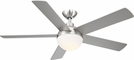 EGLO 203236A Tulum Contemporary Brushed Nickel LED 52  Home Ceiling Fan