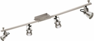 EGLO 203248A Trillo Contemporary Brushed Nickel LED 4-Light Home Track Lighting