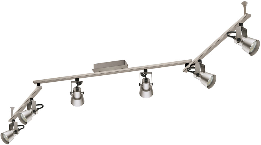 Trillo Modern Brushed Nickel Led