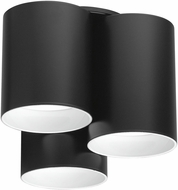 EGLO 203385A Vistal Modern Matte Black LED Ceiling Lighting