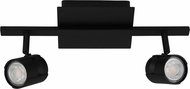 EGLO 203396A Vergiano Modern Black LED 2-Light Track Lighting