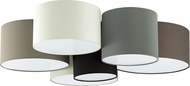 EGLO 203559A Pastore    Contemporary White / Black / Grey / Cappucino Ceiling Light