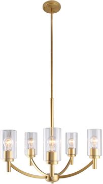 EGLO 203741A Devora Contemporary Antique Gold Chandelier Light