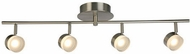 EGLO 203999A Newport Hill Contemporary Brushed Nickel LED Track Lighting Fixture