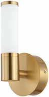 EGLO 204375A Palmera 1 Contemporary Brushed Gold LED Sconce Lighting
