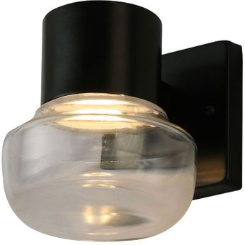 EGLO 204446A Belby Modern Black LED 7.5  Wall Lighting