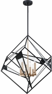 EGLO 204588A Corrietes Modern Matte Black 29.5  Hanging Light Fixture