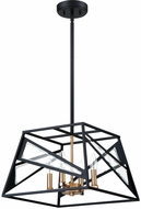 EGLO 204594A Corrietes Contemporary Matte Black Drop Lighting