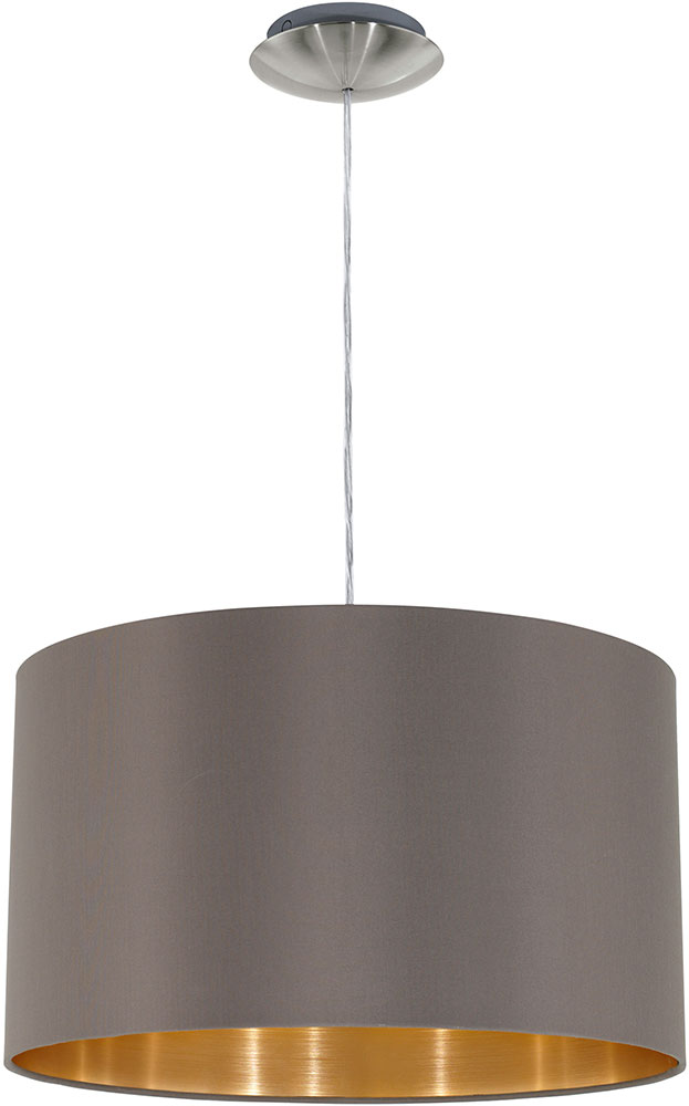 drum pendant lighting kitchen island eglo 31603a maserlo modern satin nickel drum pendant light fixture loading zoom fixture