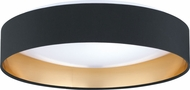 EGLO 31622A Maserlo Modern Black / Gold LED Ceiling Light Fixture