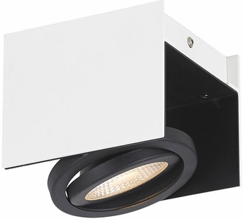 EGLO 39315A Vidago Contemporary Black / White LED 1-Light Track Lighting