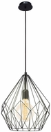 EGLO 49257A Carlton Modern Black Drop Lighting
