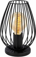 EGLO 49481A Newtown Contemporary Matte Black Accent Lighting