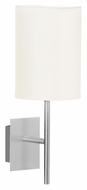 EGLO 82809A Sendo Aluminum Finish Transitional Style Wall Sconce Light Fixture - 13 Inches Tall