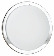 EGLO 82945A Planet Transitional Chrome Finish 11 Inch Diameter Wall Light Fixture - Small