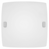 EGLO 83241A Aero Transitional 9 Inch Wide Matte Nickel Small Lighting Sconce