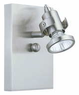 EGLO 86016A Tukon I Transitional 6 Inch Tall Matte Nickel Wall Light Fixture
