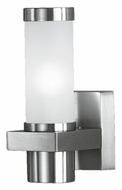 EGLO 86385A Konya Modern 8 Inch Tall Wall Mounted Exterior Sconce Lighting