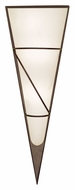 EGLO 87794A Pascal I Large Wall Mounted Antique Brown 27 Inch Tall Contemporary Torch Sconce