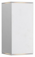 EGLO 88101A Tabo I 7 Inch Tall Large Silver Exterior Wall Lighting