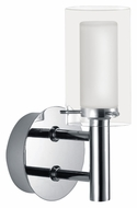 EGLO 88193A Palermo Transitional 7 Inch Tall Chrome Wall Light Sconce
