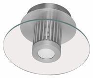 EGLO 89117A Chiron Aluminum Contemporary Wall Or Ceiling Lighting - 7 Inch Diameter