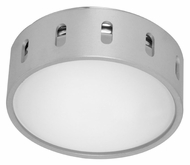 EGLO 89118A Chiron Modern 5 Inch Wide Wall Or Ceiling Mount Lighting Fixture - Aluminum/Chrome
