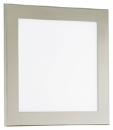 EGLO 91683A LED Auriga Satinated Glass 11 Inch Wide Modern LED Ceiling Light