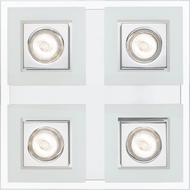 EGLO 92876A Cabo Modern Chrome Halogen Ceiling Lighting