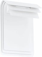 EGLO 93256A Sojo Contemporary White LED Outdoor Wall Lamp