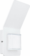 EGLO 93326A Pias Modern White LED Outdoor Sconce Lighting