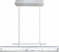 EGLO 93625A Cardito 1 Contemporary Chrome LED Kitchen Island Light Fixture
