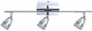 EGLO 93743A Pecero Modern Chrome LED Track Lighting Fixture