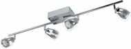 EGLO 93744A Pecero Contemporary Chrome LED Home Track Lighting
