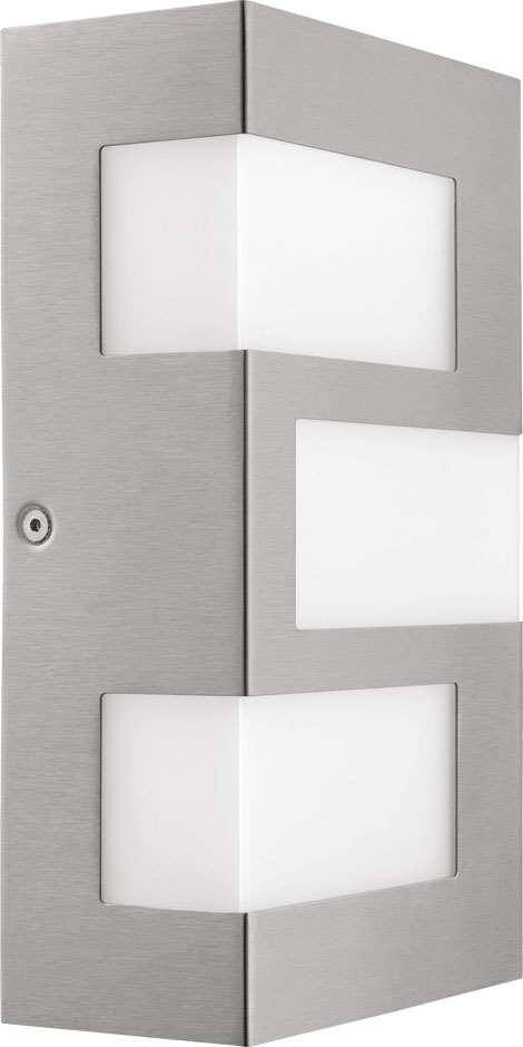 Eglo 94086a Ralora Modern Stainless Steel Led Outdoor Lighting Sconce