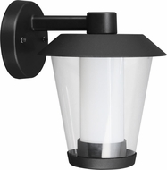 EGLO 94215A Blyth Contemporary Black LED Exterior Wall Mounted Lamp