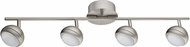 EGLO 94305A Lombes 1 Modern Matte Nickel LED Track Lighting