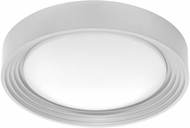 EGLO 95692A Ontaneda 1 Contemporary Silver LED Flush Mount Lighting Fixture