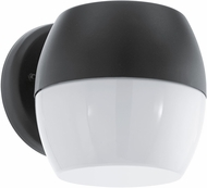 EGLO 95981A Oncala Contemporary Black LED Outdoor Wall Sconce Lighting