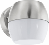 EGLO 95982A Oncala Contemporary Stainless Steel LED Exterior Wall Light Fixture