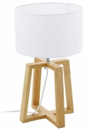 EGLO 97516A Chietino Contemporary Wood Table Lamp